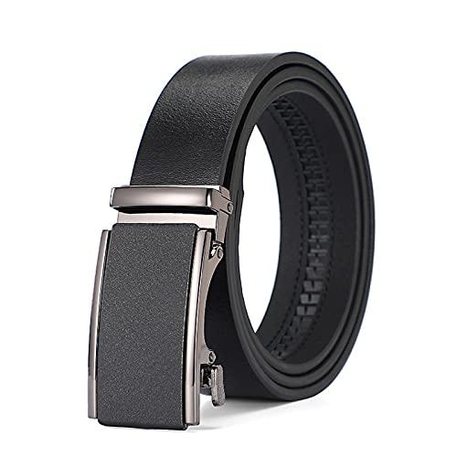 ZPMY Cinturón, cinturón de hombre multifunción, material de cuero de la hebilla automática