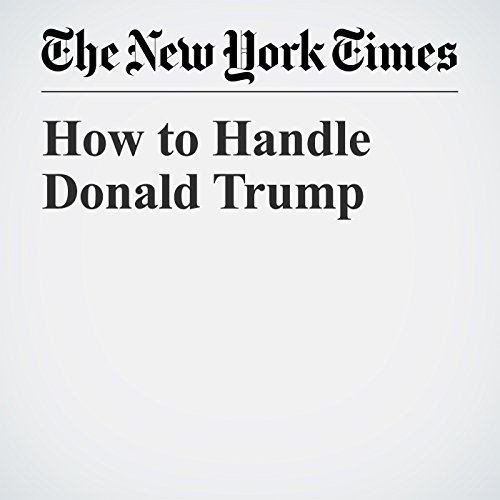 How to Handle Donald Trump audiobook cover art