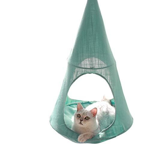 Kat hangmat, Raambank Hangende Kat Bed Huisdier Kat Nest, Huisdier Hangmat Hangende Zit, Bespaar ruimte, Geschikt voor Huishouden Afneembaar en Wasbaar B