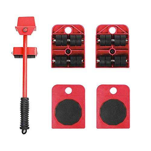 Furniture Shifter Lifter Set Heavy-Duty Mobile Tool Multifunction Shifter for Sofas, Air Conditioning, Refrigerators