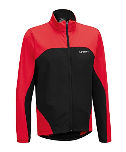 Gonso Herren Bog Thermo-Active-Jacke, Fire, L