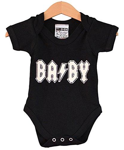 BA/BY baby body. Cadeau pour le ACDC bébé.