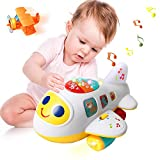 Huile Baby Toys Electronic Airplane Toys with Lights & Music ,Best Kids Early Learning Educational...