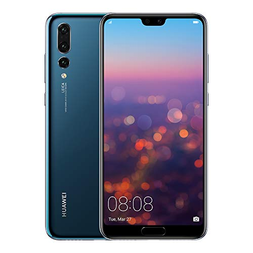 Huawei P20 Pro Single SIM 4G 128GB Blue - Smartphones (15.5 cm (6.1'), 128 GB, 40 MP, Android, 8.1, Blue)