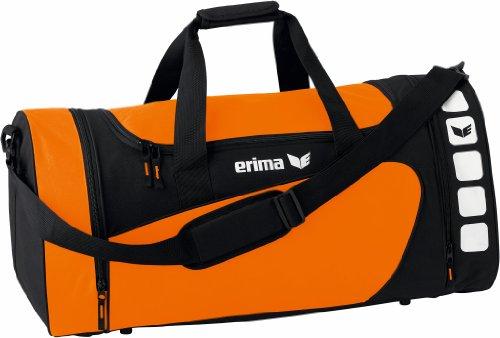Erima Club 5 Sporttasche, Orange/schwarz, L