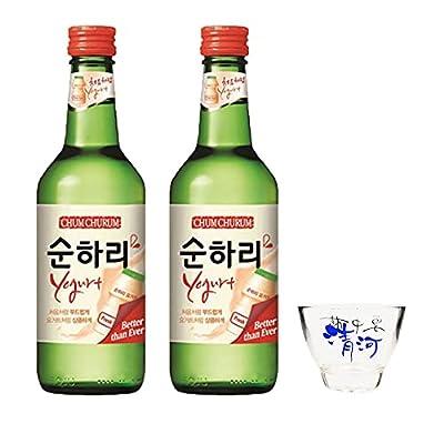Lotte Chum Churum Soju - Yogurt Flavour 12% Alc/vol 360ml (Pack of 2)