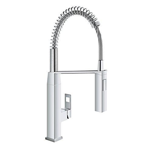 Eurocube Single-Handle Pull-Down Semi-Pro Kitchen Faucet