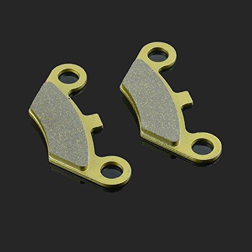 Fast Pro 96.96X 37.25X 7.15mm 1Paar Vorne und Hinten Bremsbeläge für A.J.S. CF MOTO Explorer Gose (Linhai neuen Force Quads Peugeot Quadzilla W.T. Motoren