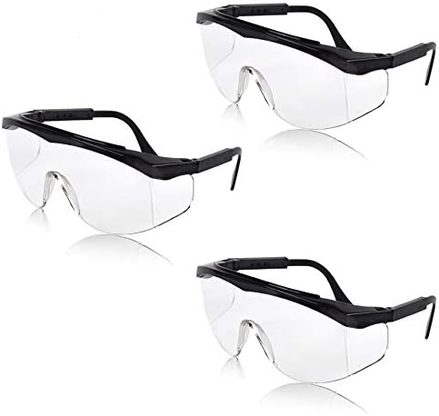 Sunny Pro Protective Safety Glasses with Clear Lenses Splash Windproof Dustproof Goggles UV product image