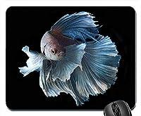 ベタシャムの戦いの魚カラフルな熱帯マウスパッドマットマウスパッドホットギフト