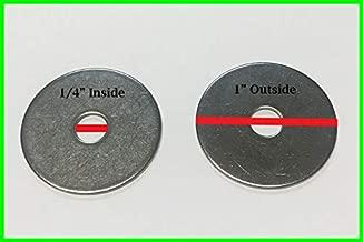 Steel Pack of 5 Lyn-Tron 3//8-16 Screw Size 0.625 OD Zinc Plated Female 1.937 Length,