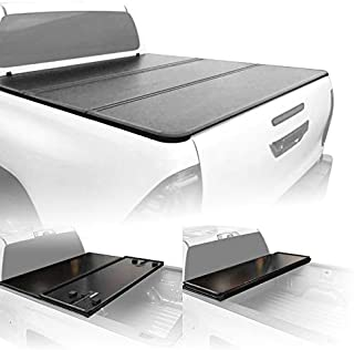 Fenza Hard Tri-Fold Tonneau Cover for 2016-2020 Toyota Hilux (Double Cab)