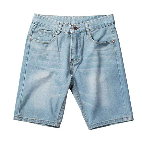 Shorts Denim Shorts Mode Zomer Casual Shorts Blue