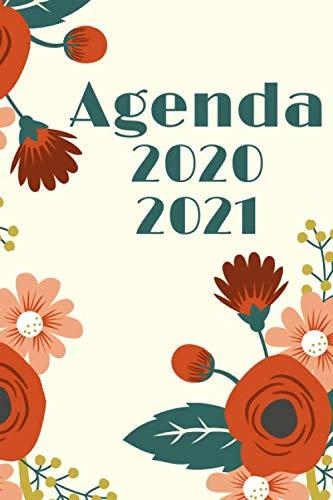 Agenda 2020 2021: Planificateur pour collège et lycée avec 1 page par jour