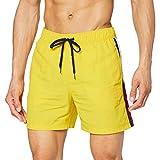 Tommy Hilfiger SF Medium Drawstring Pantalones Cortos, Amarillo (Empire Yellow 700), Large para Hombre