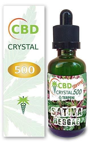 Original CRYSTALCBD reggae Mr Kush E-liquid PG VG líquido 30ml 500mg natural canabis SIN NICOTINA Italy made