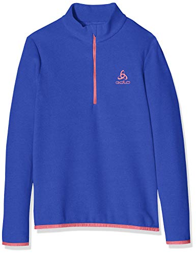 Odlo Midlayer Royale Pull Mixte Enfant, Clematis Blue, FR : M (Taille Fabricant : 140)