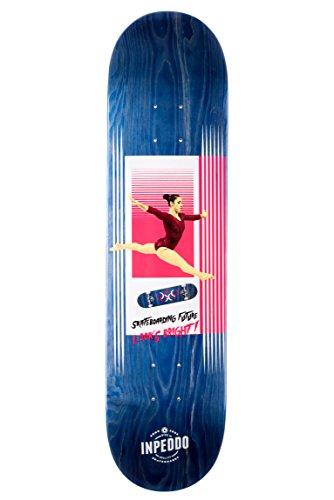 Inpeddo Skateboard Deck #Sportslife Blue 8.125