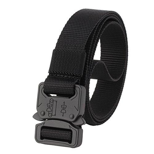 GRULLIN Molle Tactical cinturon de nylon, CQB aparejadores Waistbelt, outdoor Heavy Duty...