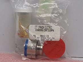 ITT Cannon D38999/26FD19PN Connector