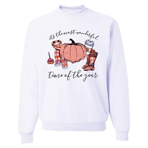 Kapuzenpullover Hoodie Halloween Sweatshirt Frauen Herbst O Hals Kürbis Druck Plus Size Damenbekleidung Langarm Übergroße Hoodies Streetwear