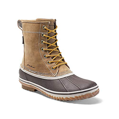 "Eddie Bauer Women's Hunt 8"" Pac Boot, Wheat Regular 8.5M"