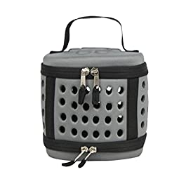 JEELINBORE Pet Carrier Travel Bag for Small Dogs and Cats Collapsable Portable Foldable Airline Approved