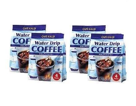 カフェカルディ ウォータードリップコーヒー 水出しアイスコーヒー (40g×4p)【4個セット】