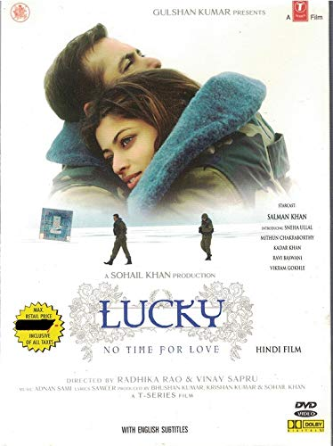 Lucky-No Time For Love (Brand New Single Disc Dvd, Hindi Language, With English Subtitles, Released By T-Series)
