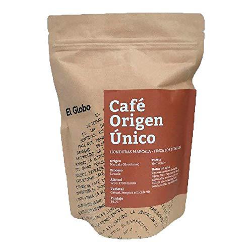 Cafe Origen Único El Globo Coffee Beans Gourmet Honduras Marcala Finca Los Túneles 300 Gramos