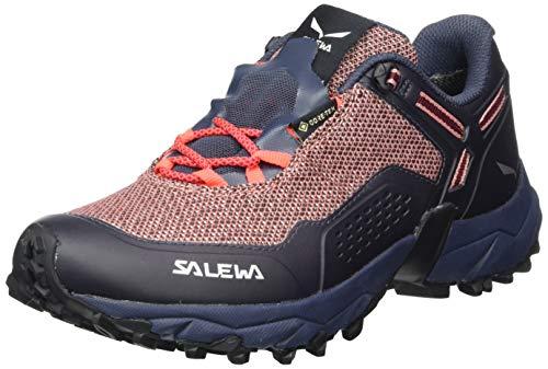 Salewa Damen WS Speed Beat Gore-TEX Traillaufschuhe, Ombre Blue/Tawny Port, 41 EU