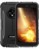 DOOGEE S35 [2021] Móvil Resistente, 4350mAh Batería, 4G Moviles Baratos y Buenos Android, 13MP Triple Cámara, 5.0 Corning Gorilla Glass Pantalla, 2GB RAM + 16GB ROM Smartphone Antigolpes, GPS, Negro