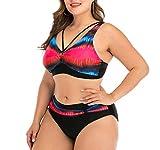 Mzjiaqir Multicolor Push Up Bikinis Set Traje de bao de...
