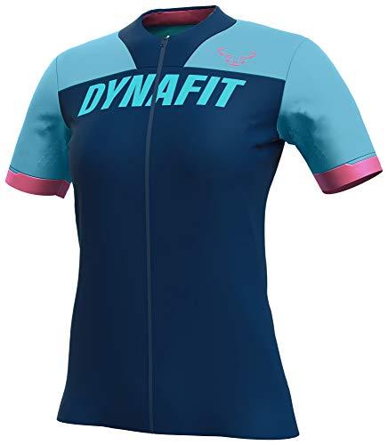 Dynafit Femme Ride Full Zip t-Shirt, Turquoise, L