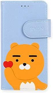Kakao Friends Heart Color Wallet Case Ver.2 for Apple iPhone 8 Plus/iPhone 7 Plus (Ryan)