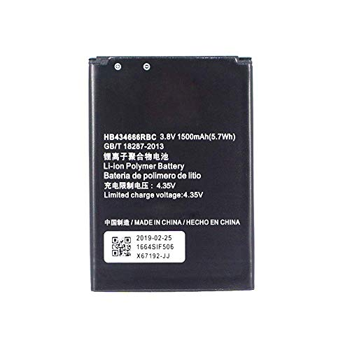 BOMAItalia Batteria per Huawei Web Pocket E5573 - E5575 - E557 HB434666RBC Cube H3G Modem Router Tre Compatibile