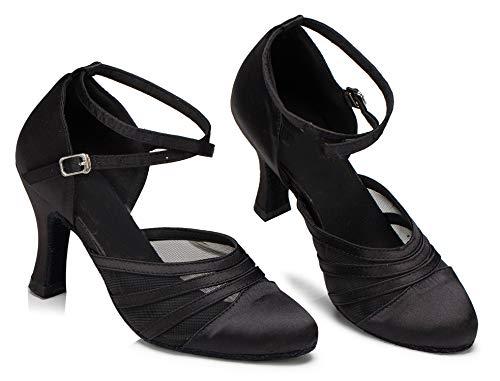 Minitoo ,  Damen Tanzschuhe , Schwarz – schwarz – Größe: 36.5 - 3