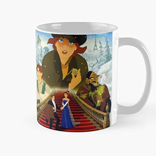 Shoprkcb Princess Upon A In Paris Together Christmas Anastasia Animation Once December Movie Taza de café con Leche 11 oz