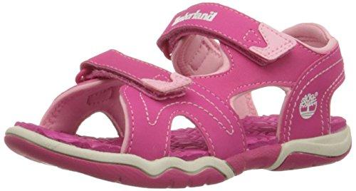 Timberland Kids Adventure Seeker 2 Strap Sandal (Little Kid) Pink 3 Little Kid M