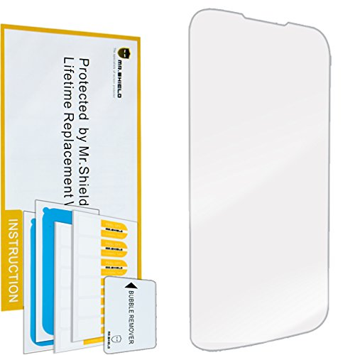 Mr.Shield for Blu Studio 6.0 HD [Tempered Glass] Screen Protector [0.3mm Ultra Thin 9H Hardness 2.5D Round Edge] with Lifetime Replacement