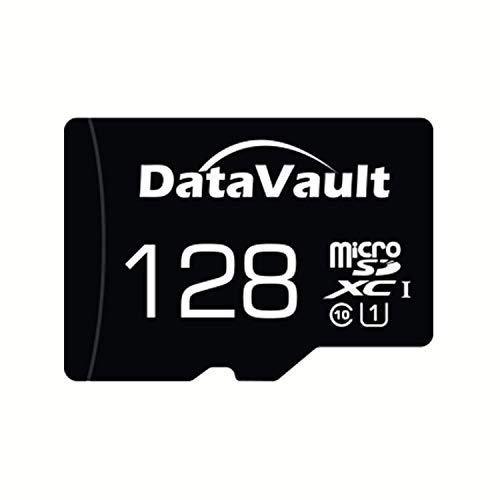 Data Vault 128GB Class 10 UHS1 U1 Memory Card with SD Adaptor