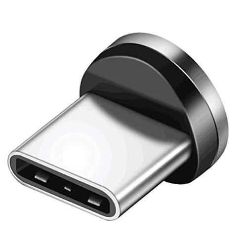 Lodenlli Cable de Datos USB Cable de Carga magnético Micro USB Tipo C para iPhone para Samsung Galaxy para Accesorios de teléfono Huawei