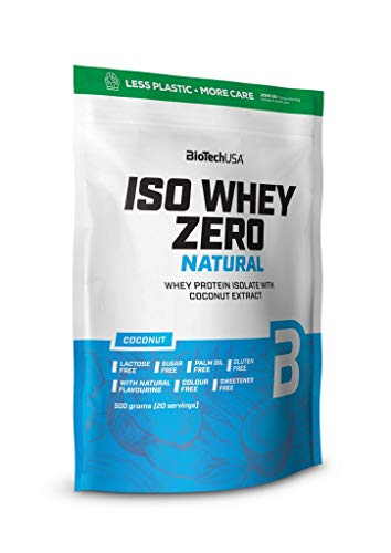 BioTechUSA Iso Whey Zero Natural, Strawberry, 521 g