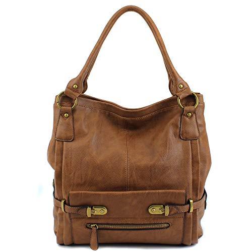 Scarleton Shoulder Bag for Women, Purses for Women, Handbag for Women, Tote Handbag, H114804 - Dark Brown