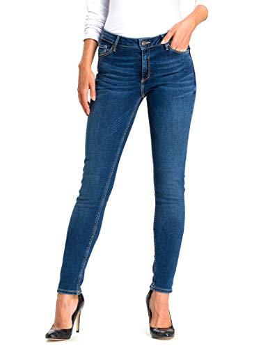 Cross Jeans Damen Alan Skinny Jeans, Blau (Dark Blue 101), W32/L36