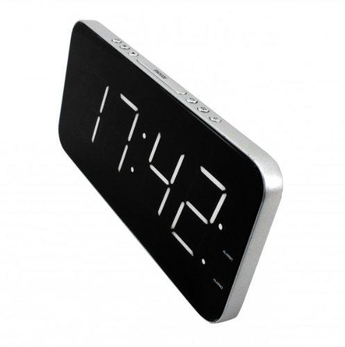 Soundmaster UR 8900 SI LED-Alarm-Uhr