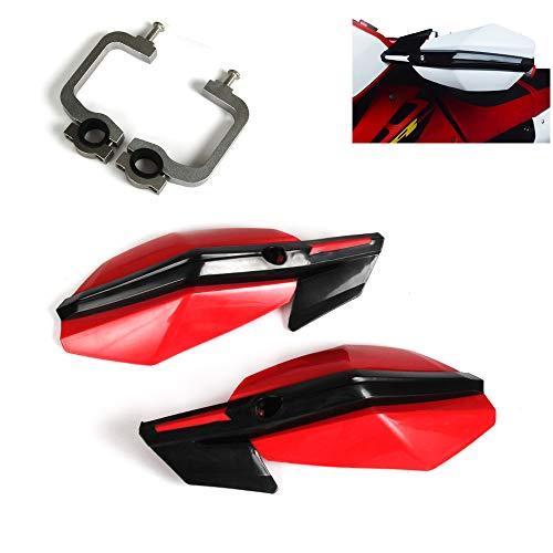 An Xin - Protectores de manos para motocicleta de 22 mm y 28 mm para motos de cross, motos de circuito para niños, enduro, Supermoto Racing, quad, CRF, YZF, KTM, KXF, RMZ, KLX y DRZ