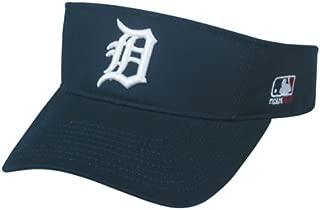 Detroit Tigers Visor Official MLB Licensed Adjustable Replica Visor Cap/Hat (One Size Fits Most)