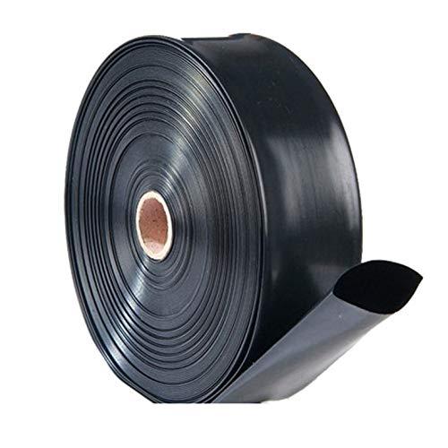 MANGUERA PLANA PLASTOCANAL ROLLO DE 100 METROS (1500 GALGAS) (60 MM)