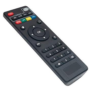 IR Replacement Remote Control Fit for OTT Android TV Box Set-Top Box IPTV Media Player MXQ PRO 4K MXQ PRO T95 Super,Q+ T95 S1 T95 S2 T95 Max,R69